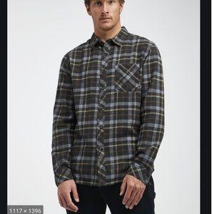 NWT Billabong Wave Washed Flannels Shirt - M